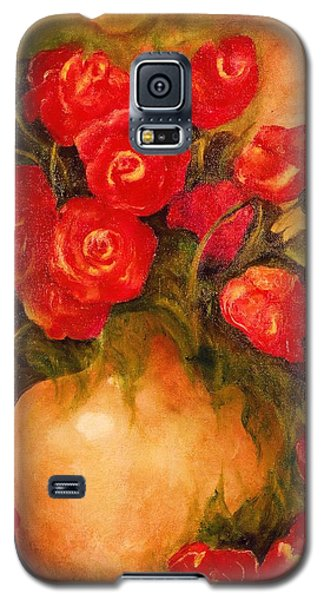 Antique Roses Galaxy S5 Case
