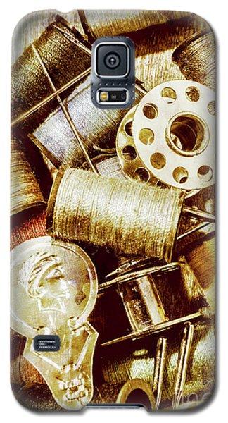 Antique Sewing Artwork Galaxy S5 Case
