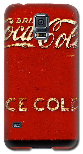 Antique Soda Cooler 6 Galaxy S5 Case