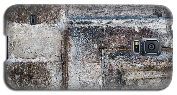 Galaxy S5 Case featuring the photograph Antique Stone Wall Detail by Elena Elisseeva