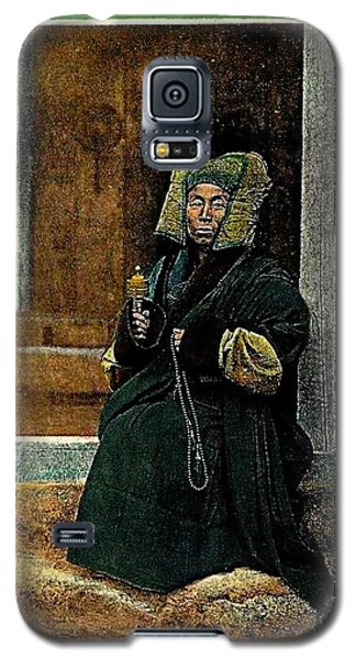 Antique Tibetan Lama Galaxy S5 Case by Peter Gumaer Ogden