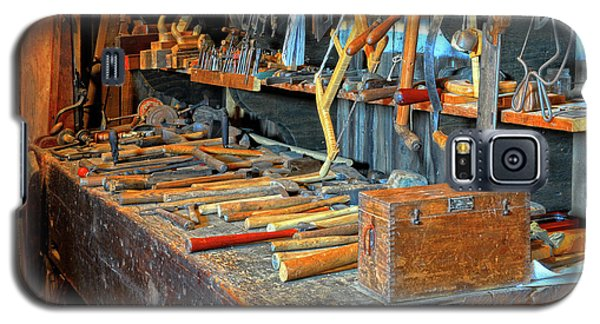 Antique Tool Bench Galaxy S5 Case