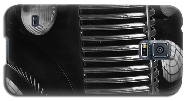 Antique Truck Black And White Galaxy S5 Case