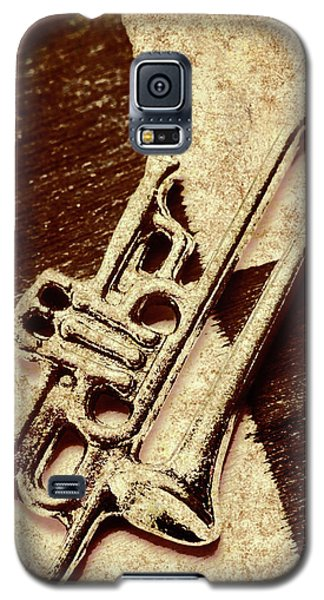 Trumpet Galaxy S5 Case - Antique Trumpet Club by Jorgo Photography - Wall Art Gallery