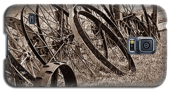 Antique Wagon Wheels II Galaxy S5 Case