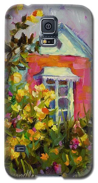 Galaxy S5 Case featuring the painting Antoinette's Cottage by Chris Brandley