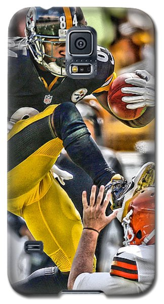 Antonio Brown Steelers Art 5 Galaxy S5 Case