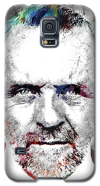 Antony Hopkins Galaxy S5 Case by Mihaela Pater