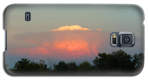 Galaxy S5 Case featuring the digital art Anvil Cloud Over Kirksville, Mo by Jana Russon