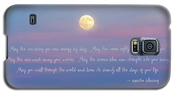 Apache Blessing Harvest Moon 2016 Galaxy S5 Case