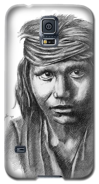 Apache Boy Galaxy S5 Case by Lawrence Tripoli