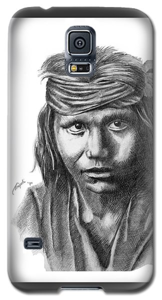 Apache Boy Galaxy S5 Case by Lawrence Tripoli