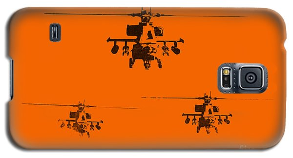Helicopter Galaxy S5 Case - Apache Dawn by Pixel  Chimp
