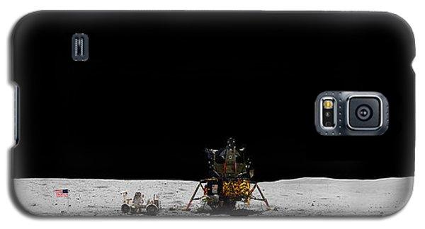 Apollo 16 Landing Site Panorama Galaxy S5 Case