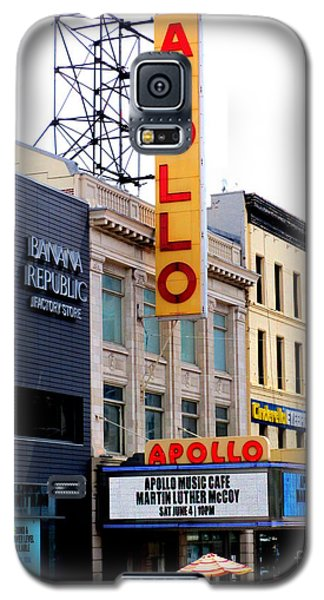 Galaxy S5 Case featuring the photograph Apollo Theater by Randall Weidner