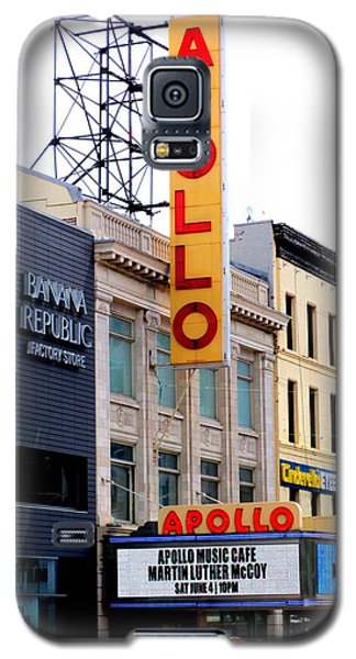 Apollo Theater Galaxy S5 Case by Randall Weidner