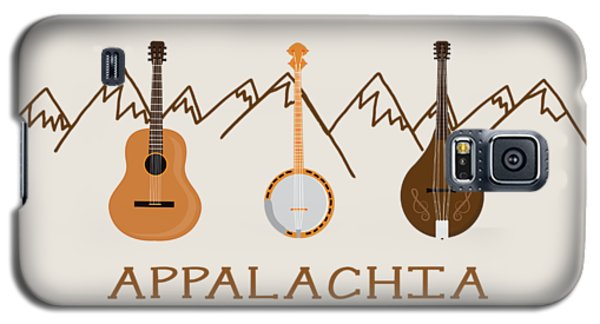 Appalachia Mountain Music Galaxy S5 Case by Heather Applegate