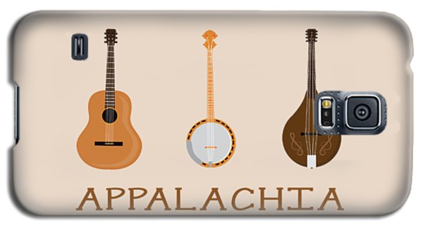 Appalachia Music Galaxy S5 Case by Heather Applegate