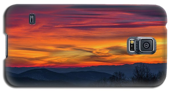 Appalachian Twilight Ecstasy Galaxy S5 Case