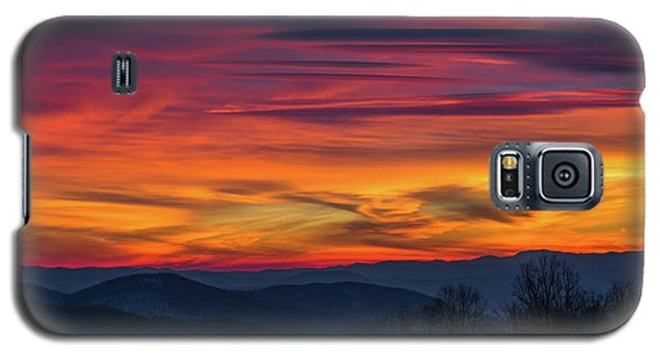 Galaxy S5 Case featuring the photograph Appalachian Twilight Ecstasy by Carl Amoth