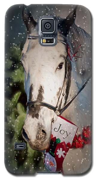 Appaloosa Christmas Galaxy S5 Case