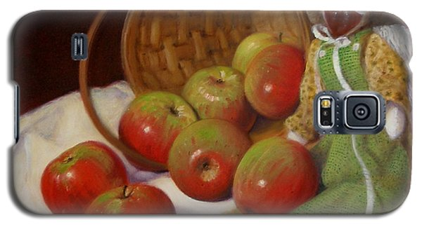 Galaxy S5 Case featuring the painting Apple Annie by Donelli  DiMaria