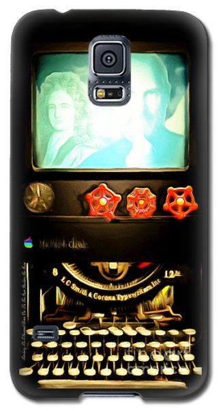 Galaxy S5 Case featuring the photograph Apple Announcement Introducing The I-steampunk One 20160321 by Wingsdomain Art and Photography