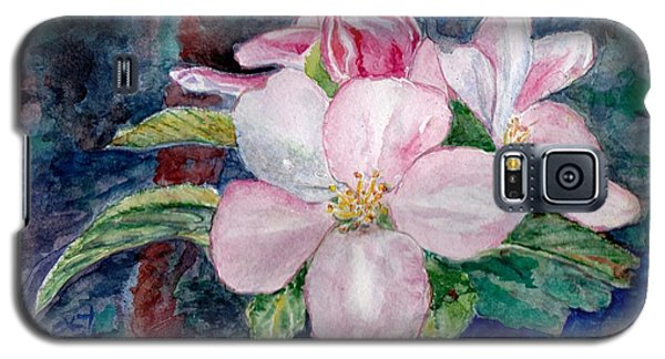 Apple Blossom - Painting Galaxy S5 Case by Veronica Rickard