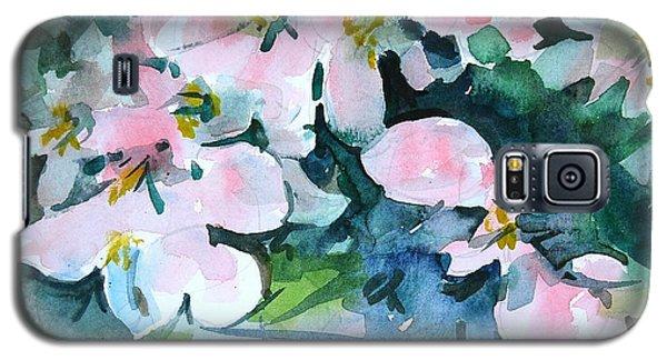 Apple Blossom Time Galaxy S5 Case by Len Stomski