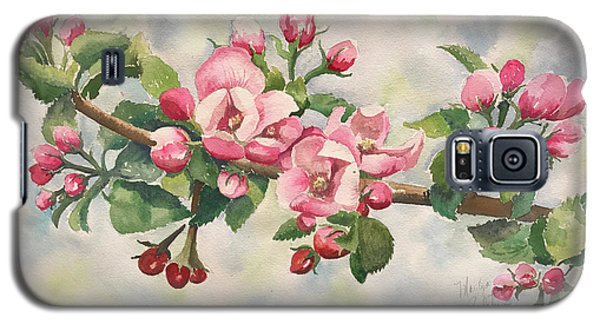 Apple Blossoms Galaxy S5 Case