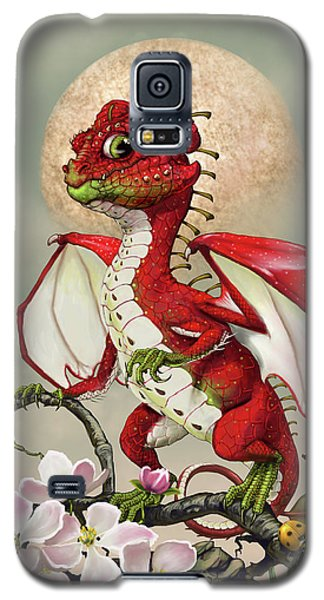 Apple Dragon Galaxy S5 Case by Stanley Morrison