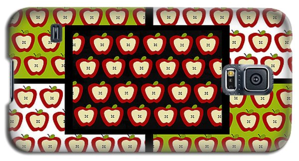 Galaxy S5 Case featuring the digital art Apple For The Teacher- Cute Art by KayeCee Spain