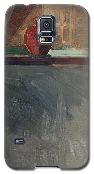 Apple On A Sill Galaxy S5 Case by Daun Soden-Greene