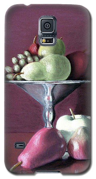 Apple  Pears And Grapes Galaxy S5 Case