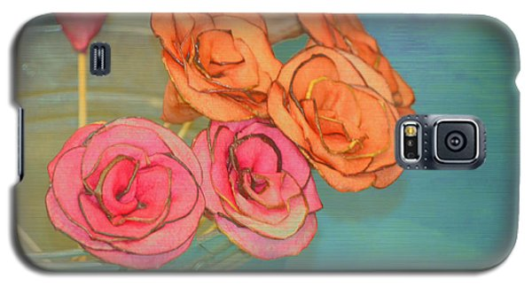 Galaxy S5 Case featuring the photograph Apple Roses by Traci Cottingham