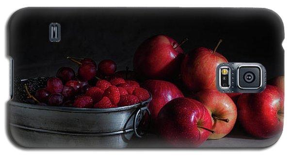 Apples And Berries Panoramic Galaxy S5 Case by Tom Mc Nemar