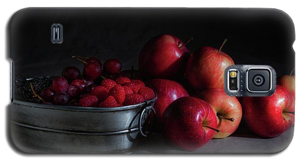 Apples And Berries Panoramic Galaxy S5 Case by Tom Mc Nemar