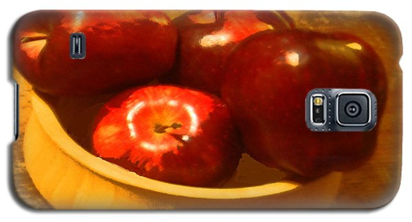 Apples In A Bowl Galaxy S5 Case by Walter Chamberlain