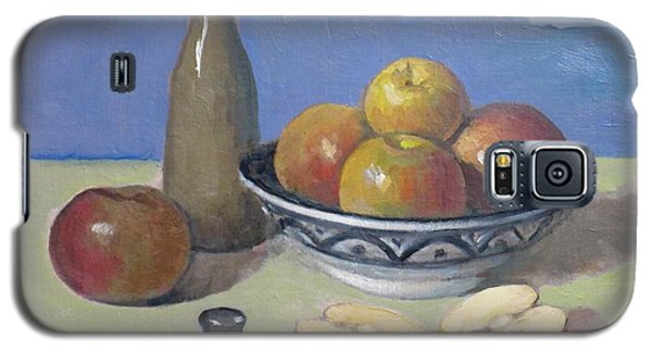 Apples In Moroccan Bowl, Salt And Vintage Bottle Galaxy S5 Case