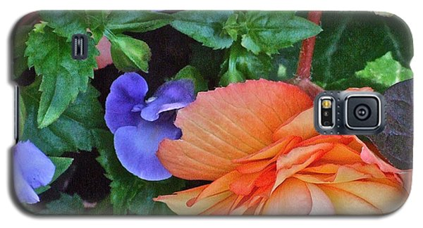 Apricot Begonia 1 Galaxy S5 Case