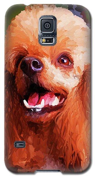 Apricot Poodle Galaxy S5 Case