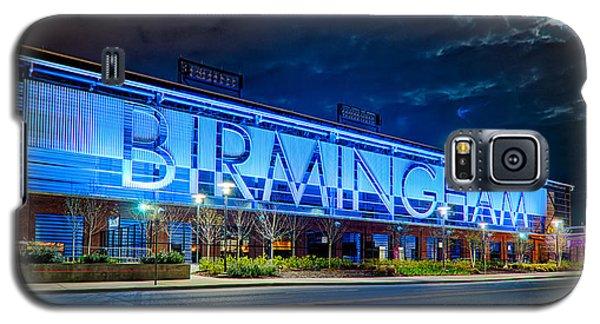 April 2015 -  Birmingham Alabama Baseball Regions Field At Night Galaxy S5 Case by Alex Grichenko