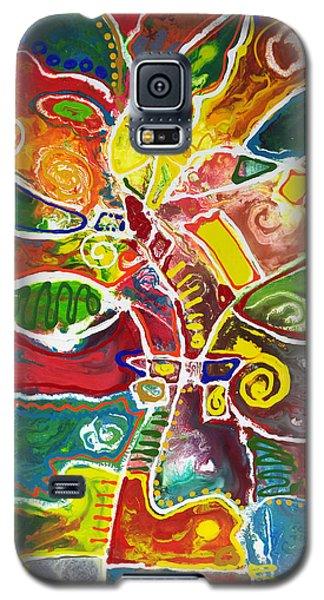 April Bouquet Galaxy S5 Case