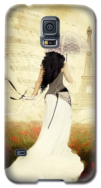 April In Paris Galaxy S5 Case