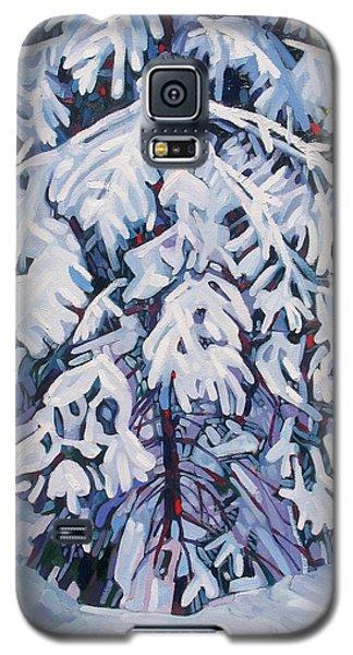 April Snow Galaxy S5 Case