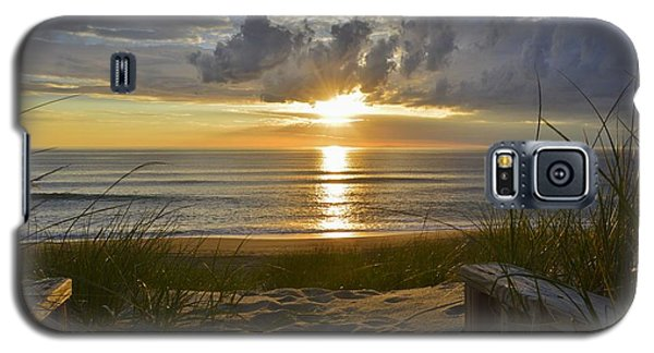 April Sunrise In Nags Head Galaxy S5 Case