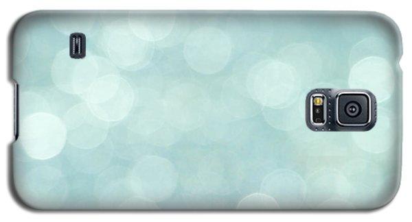 Aqua Abstract Galaxy S5 Case