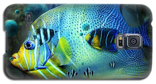 Aqua Fantasy Art World Galaxy S5 Case