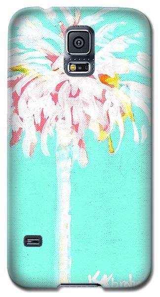 Aqua Marine Palm Galaxy S5 Case