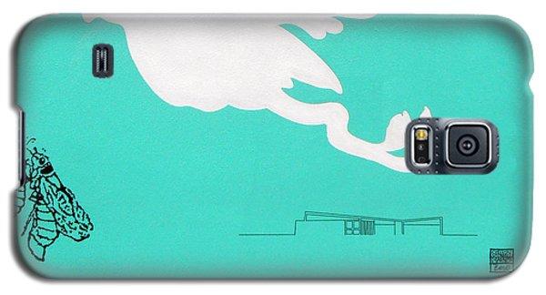 Aqua Palm Springs Idyll Galaxy S5 Case by Stan  Magnan